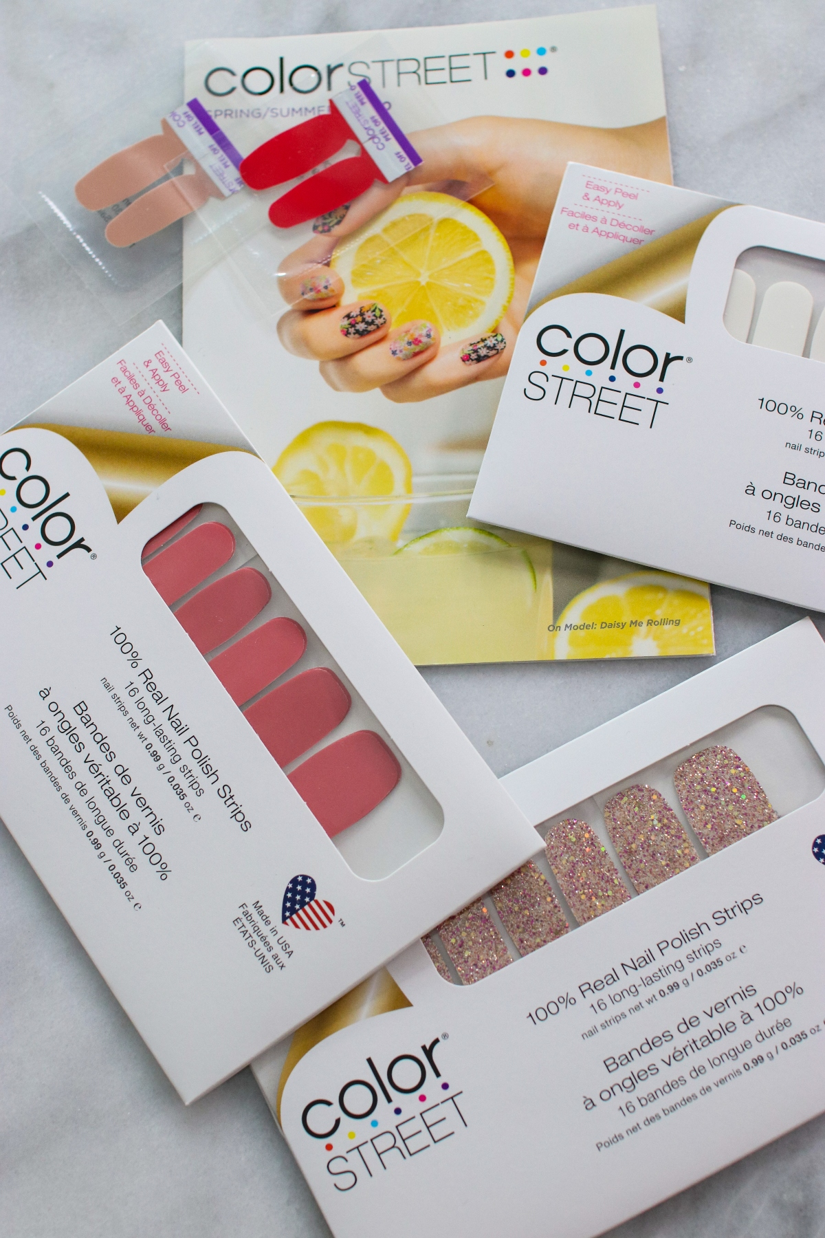 ColorStreet 100% Real Nail Polish Strips Made in USA