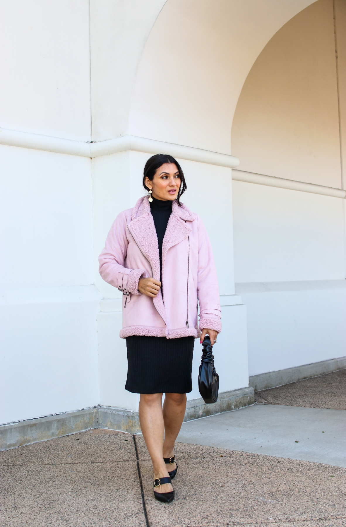 Peach Clothing Aspen Jacket Teddy Bear Coat