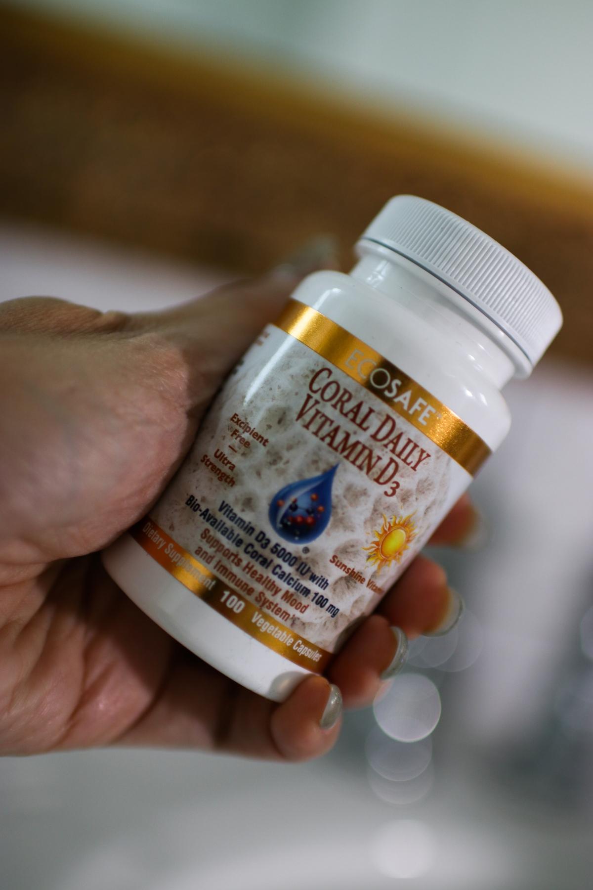 Coral Nano ECOSAFE Daily Vitamin D3 Vitamins