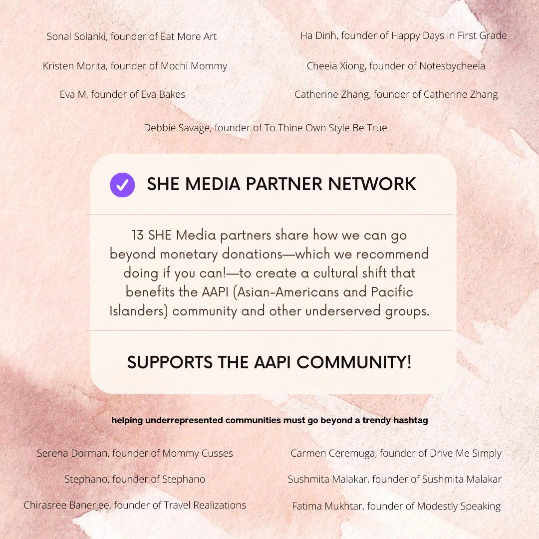 SHEmedia Blogher Supports AAPI Community