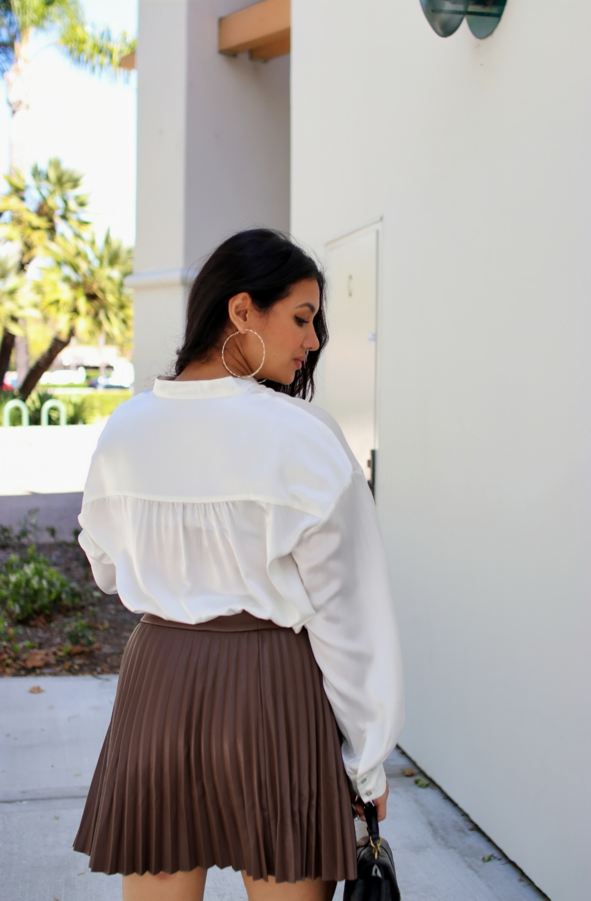 MOFT New Silk Collection | Classic White Silk Long-Sleeved Blouse