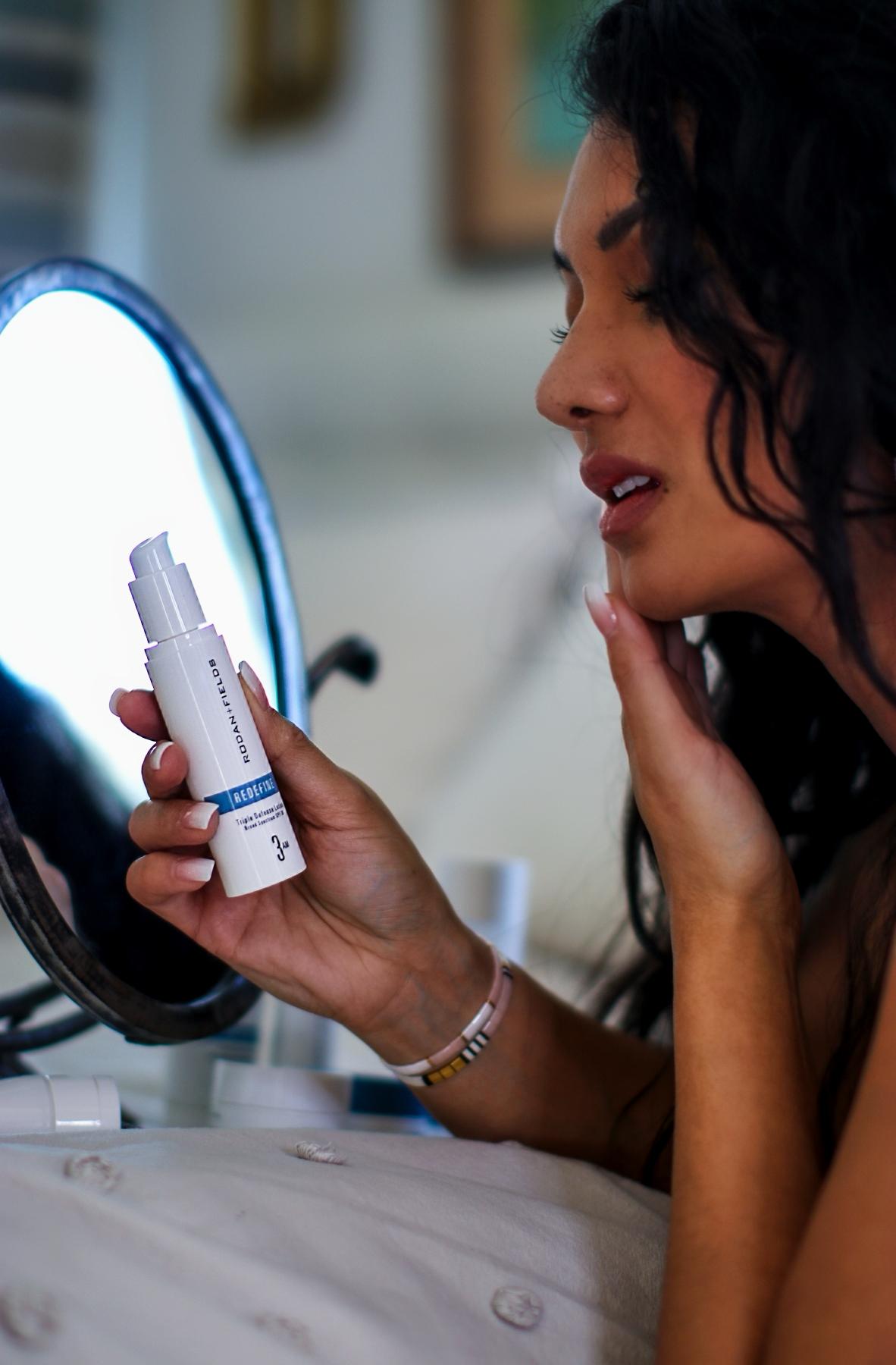 Addressing Aging Skin Thanks To Rodan + Fields REDEFINE Regimen | Debbie Savage Orange County Lifestyle + Beauty Blogger