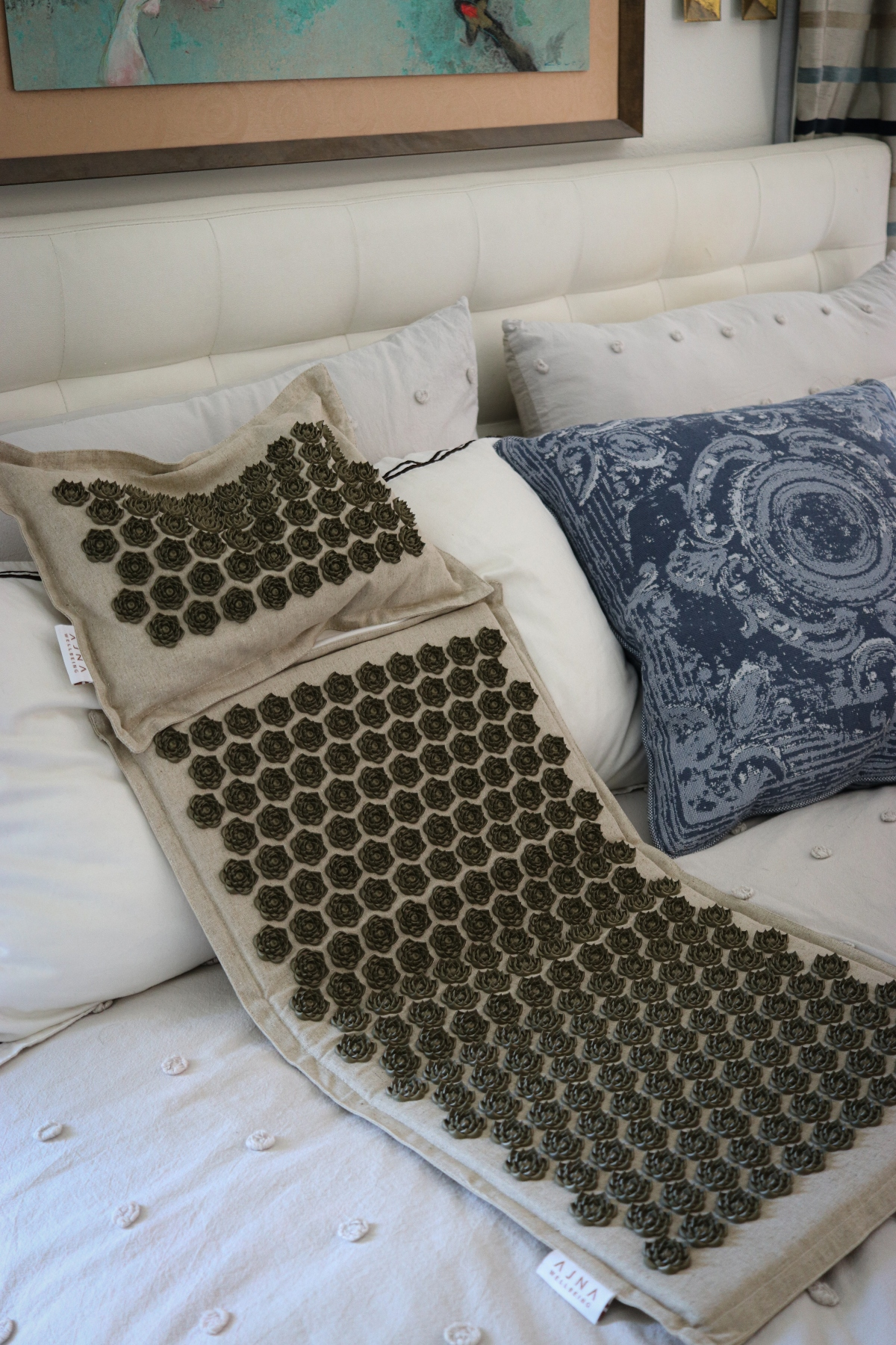A natural approach to healing: Acupressure mats and pillows