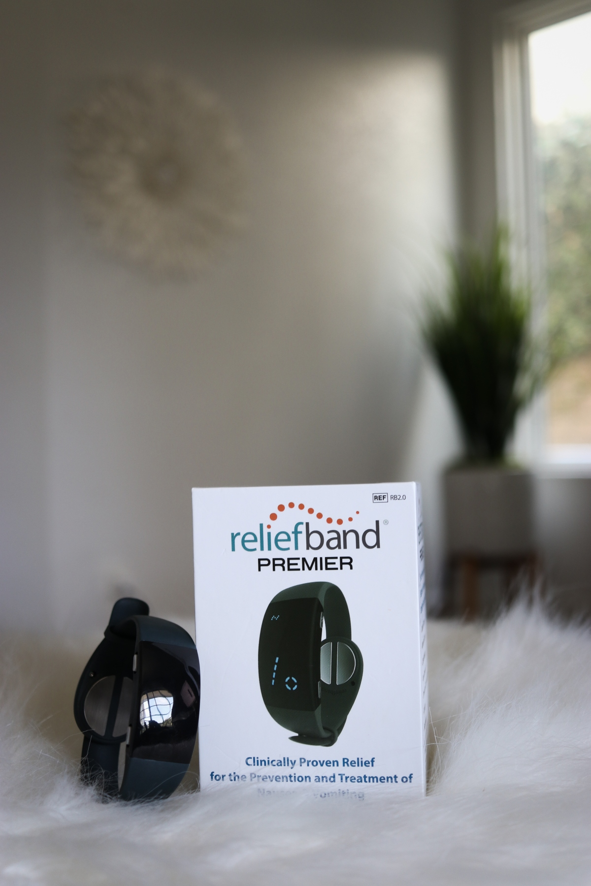 Beat Motion Sickness with Reliefband