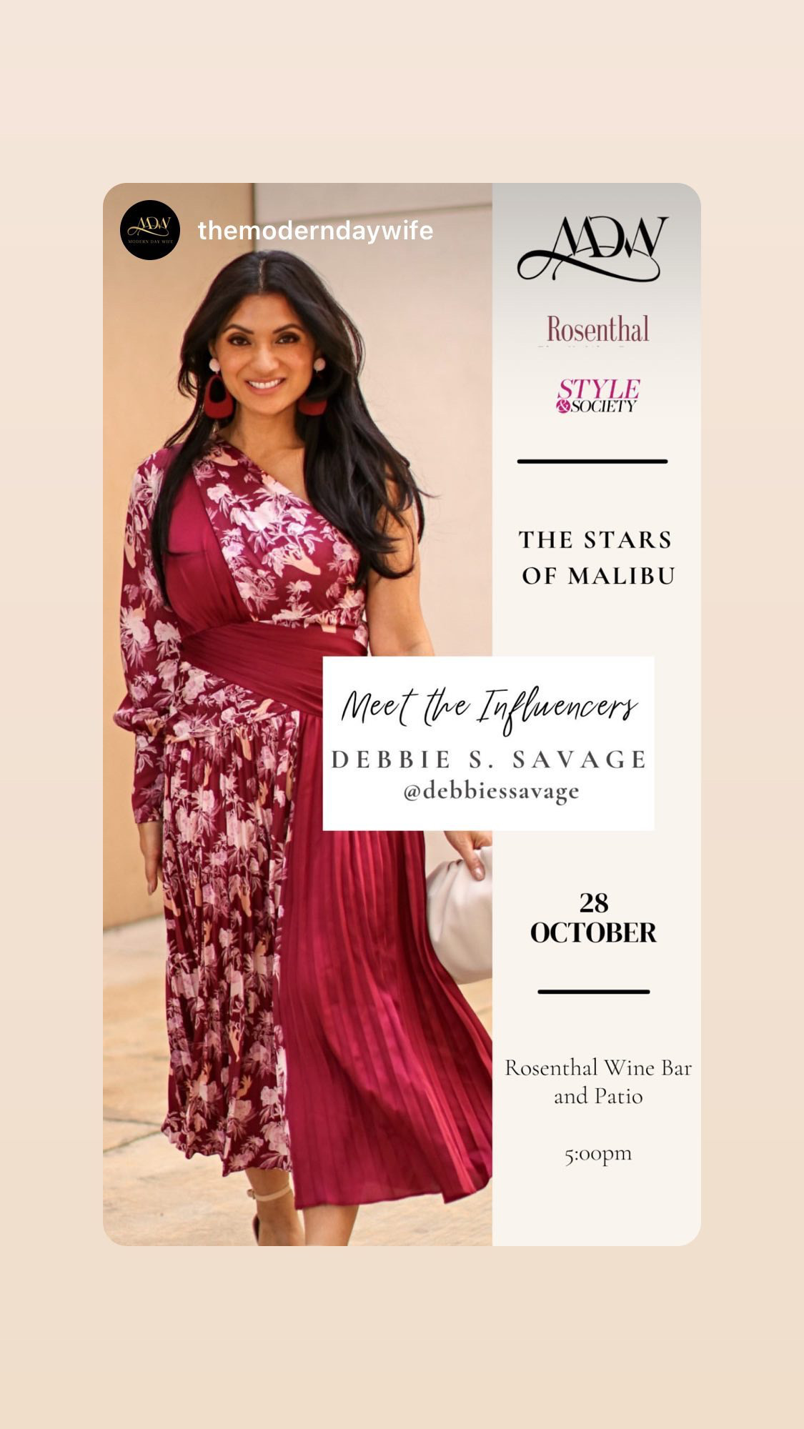 Debbie Savage Influencer Power Panelist Modern Mom | Stars of Malibu October 28 28 2021